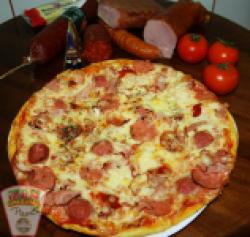 Pizza con carne 29  cm image