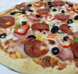 Pizza man original 1+1 36 cm image