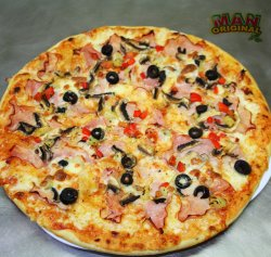 Pizza man mania 36 cm image