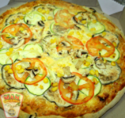 Pizza ortolana 1+1 (vegetariană)  36 cm image