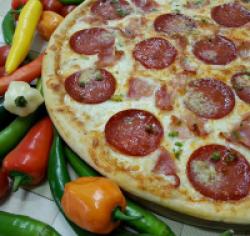 Pizza tufin original (picantă) 1+1 36 cm image