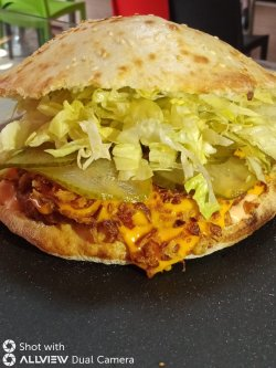 American Cheeseburger Meniu image