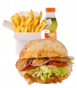 Chicken Doner Meniu image