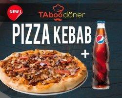 Pizza Kebab + un suc GRATUIT ! image