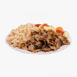 Platou Kebab de vită cu orez image