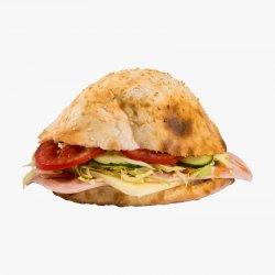Șuncă și Cașcaval Sandwich  image