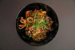 Noodles fructe de mare image